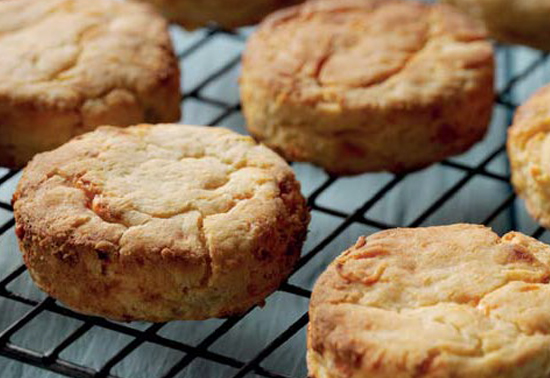 Potato and Cheese Scones