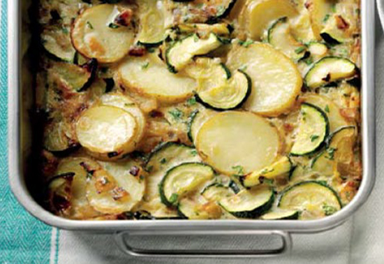 Potato and Courgette Frittata
