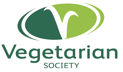 The vegetarian society logo